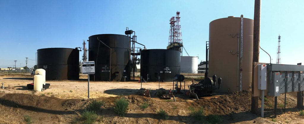 gas and oil asset management facility